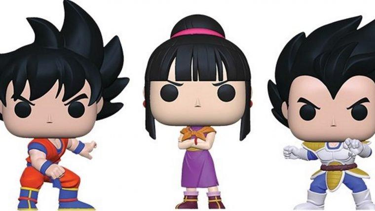 Dragon Ball Z | Raditz, Nappa e ChiChi ganham versão cabeçuda na nova coleção da Funko