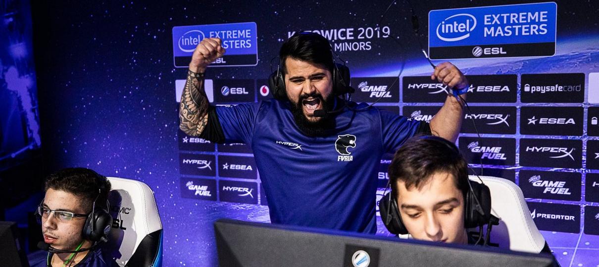 Plantão dos esports: FURIA se classifica para Katowice Major 2019 no CS:GO