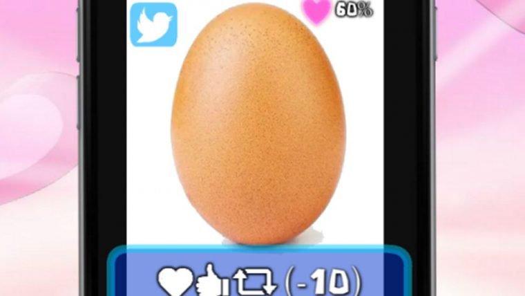 Já existe um jogo sobre namorar o ovo mais famoso do Instagram