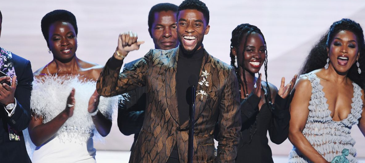 Pantera Negra vence principal prêmio no SAG Awards; confira todos os vencedores