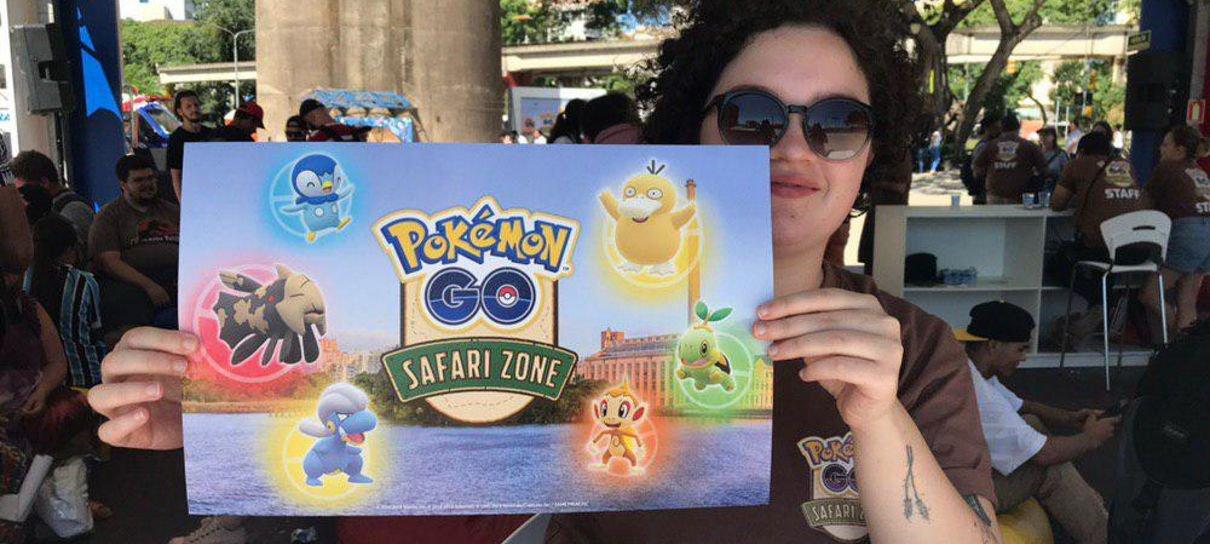 Pokémon Go | Safari Zone no Brasil captura milhares de jogadores de todas as idades