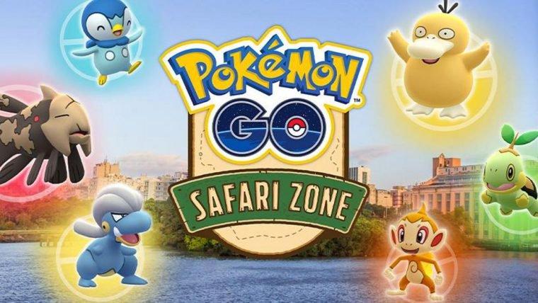 Pokémon Go | Brasil terá sua primeira Zona Safari em janeiro