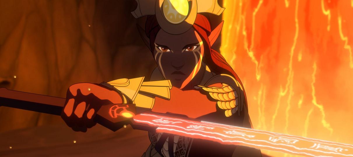 O Príncipe Dragão   Nova imagem mostra personagem inédito para a segunda temporada