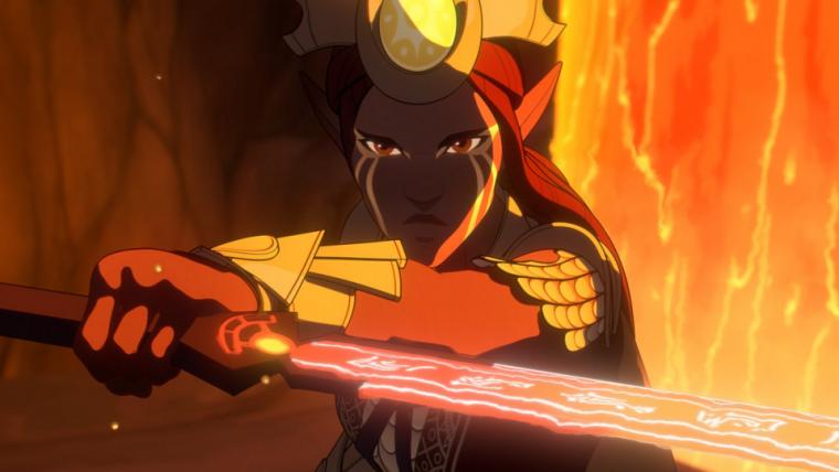 O Príncipe Dragão | Nova imagem mostra personagem inédito para a segunda temporada