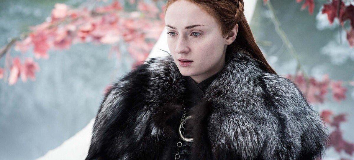 Game of Thrones |  Sophie Turner não podia lavar o cabelo durante as filmagens