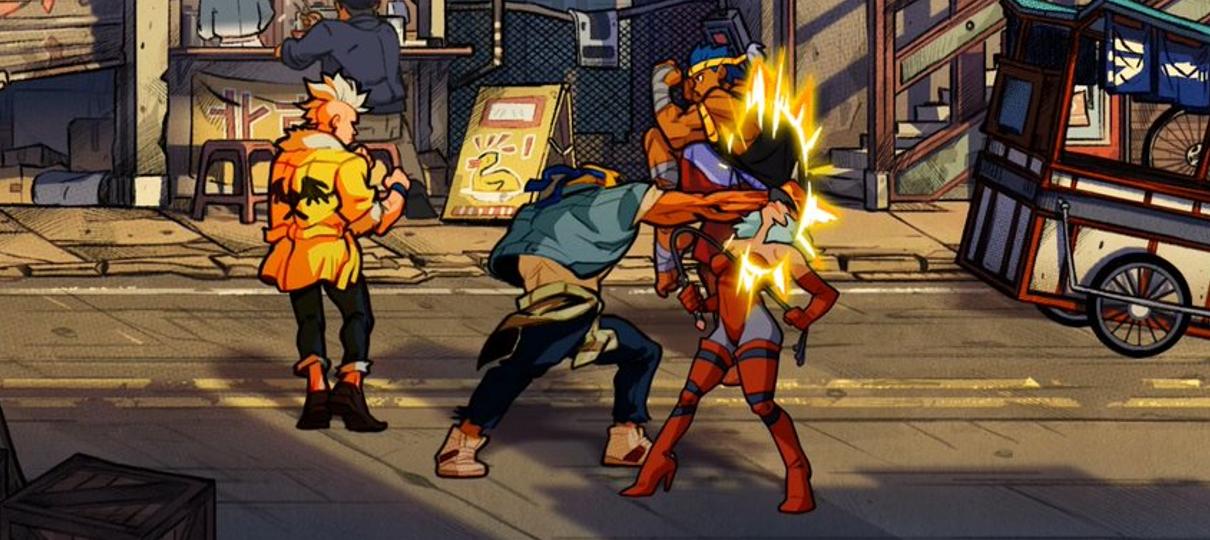 Streets of Rage 4 ganha novas imagens mostrando muita pancadaria