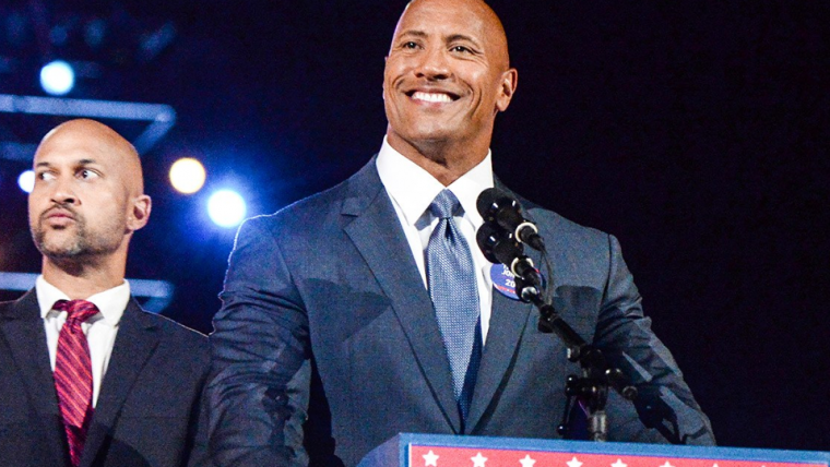 The Rock não descarta possibilidade de concorrer à presidência no futuro