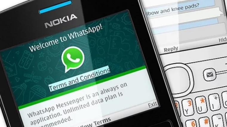 WhatsApp deixa de funcionar em celulares antigos da Nokia