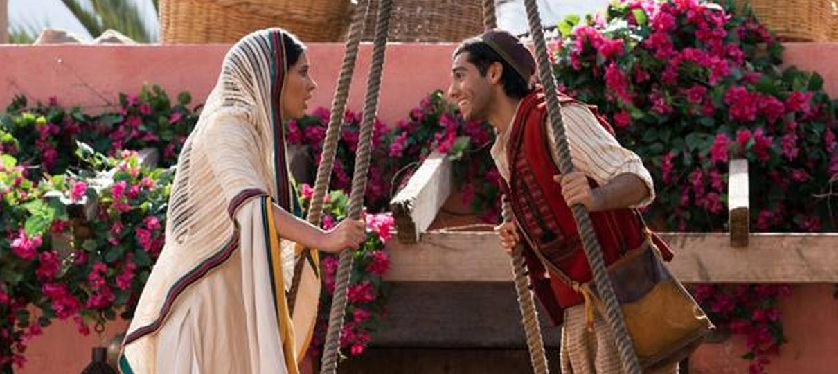 Aladdin | Casal se apaixona em nova imagem