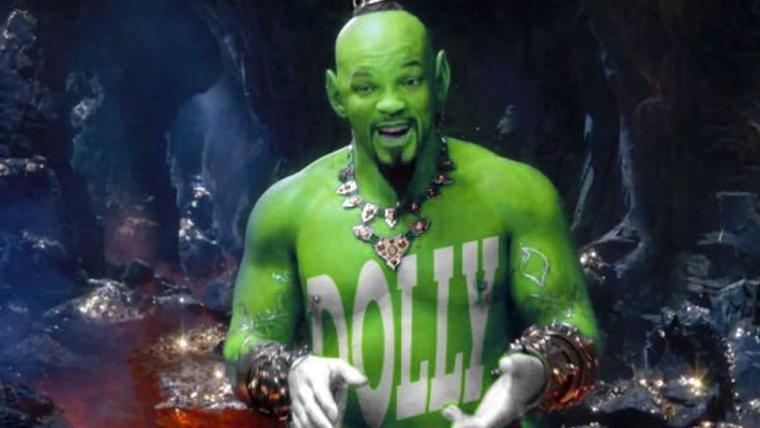 Dollynho, Thanos e mais! Internet cai na zoeira com foto do Gênio de Aladdin
