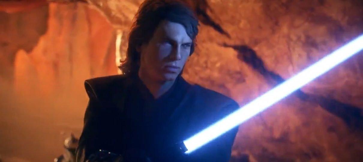 Teaser revela visual de Anakin Skywalker em Star Wars: Battlefront II