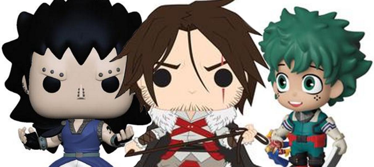 My Hero Academia, Fairy Tail e Castlevania ganham colecionáveis da Funko