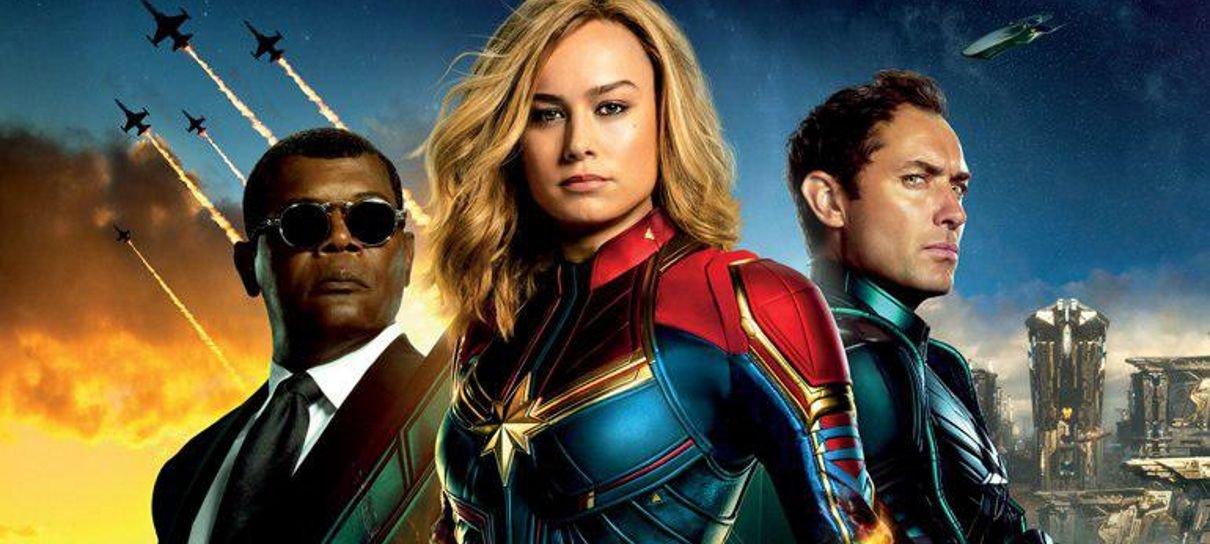 Capitã Marvel terá duas cenas pós-créditos