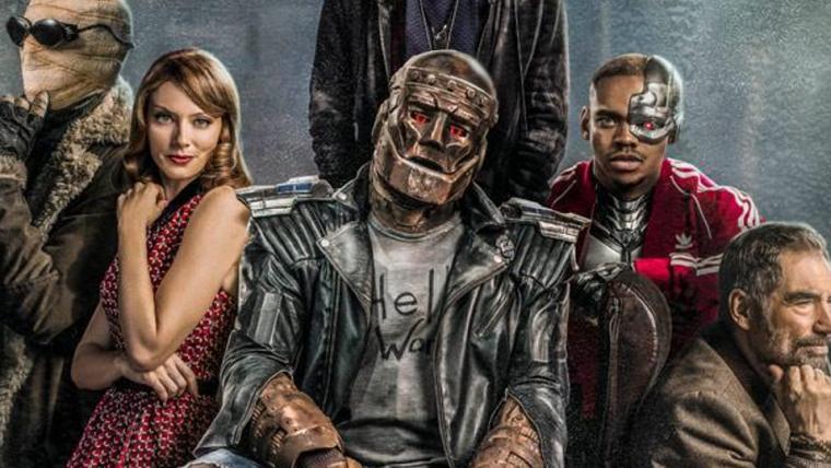Doom Patrol | Novo pôster destaca Homem-Negativo, Ciborgue e mais personagens
