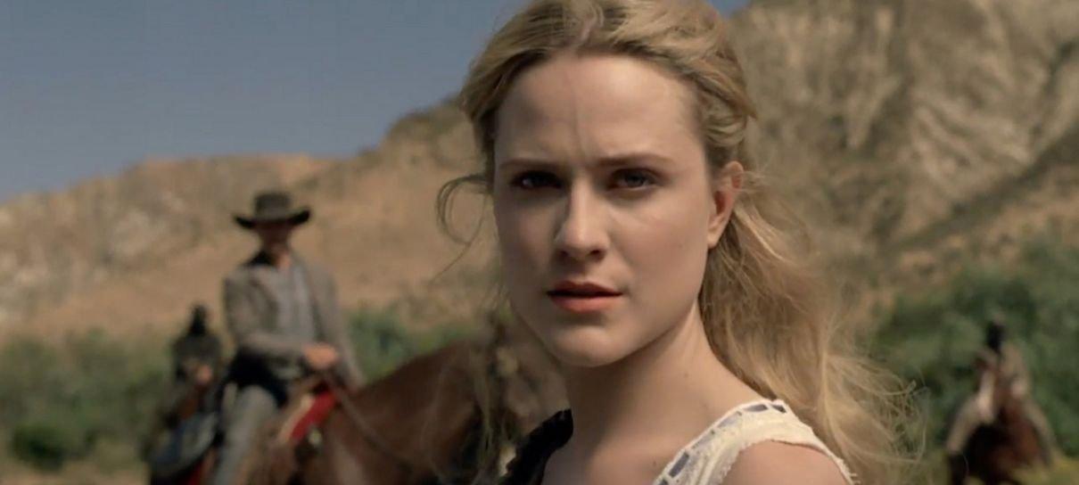 Westworld | Evan Rachel Wood divulga vídeo bizarro dos bastidores da série