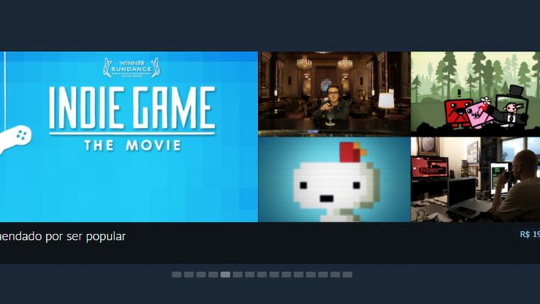 Steam vai remover filmes não-relacionados a jogos do catálogo