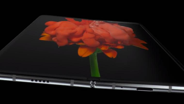 Samsung revela smartphone dobrável