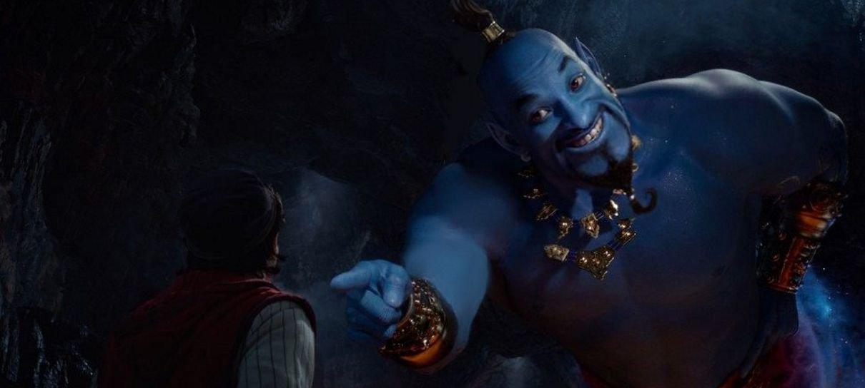 Aladdin | Arte de Rafael Grassetti imagina um Gênio mais parecido com o original