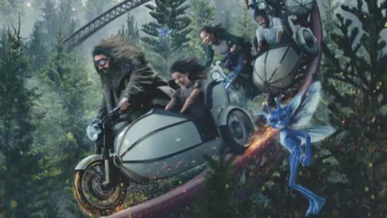 Harry Potter | Nova montanha-russa em Orlando te coloca em uma jornada ao lado de Hagrid