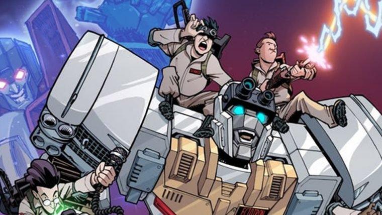 HQ que une os universos de Caça-Fantasmas e Transformers é anunciada