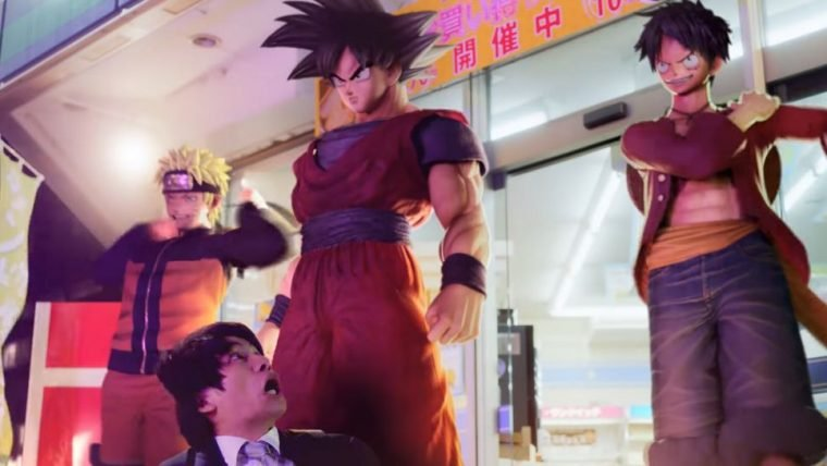 Jump Force | Goku, Naruto, Luffy e Freeza invadem o mundo real em comercial live-action
