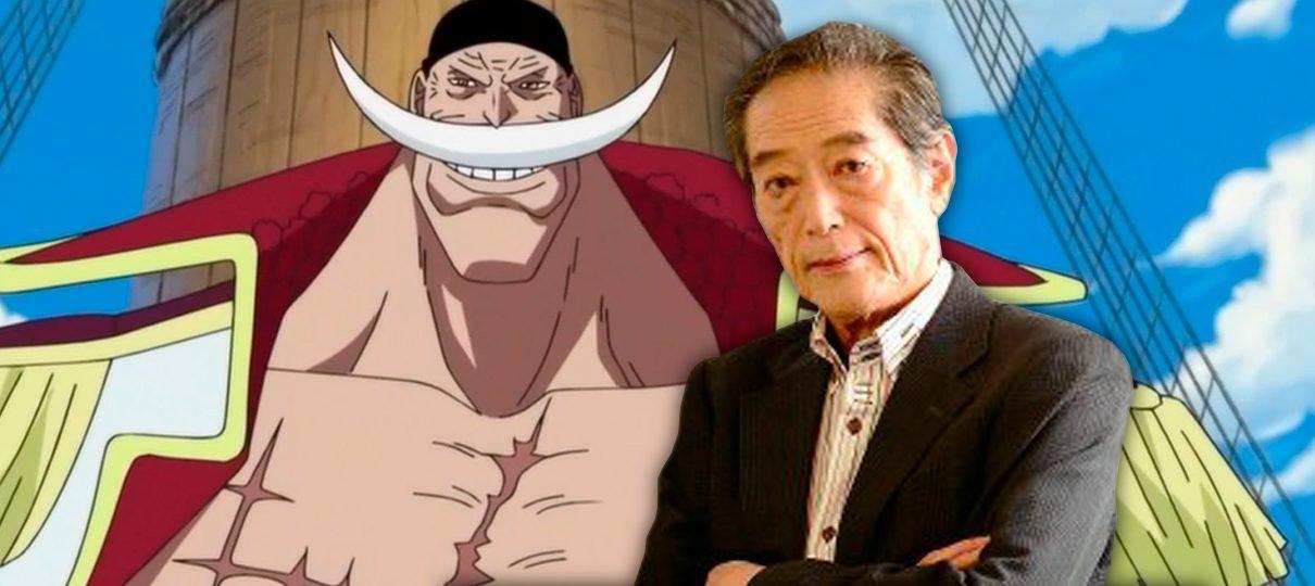 Kinryu Arimoto, voz original do Barba Branca de One Piece, morre aos 78 anos