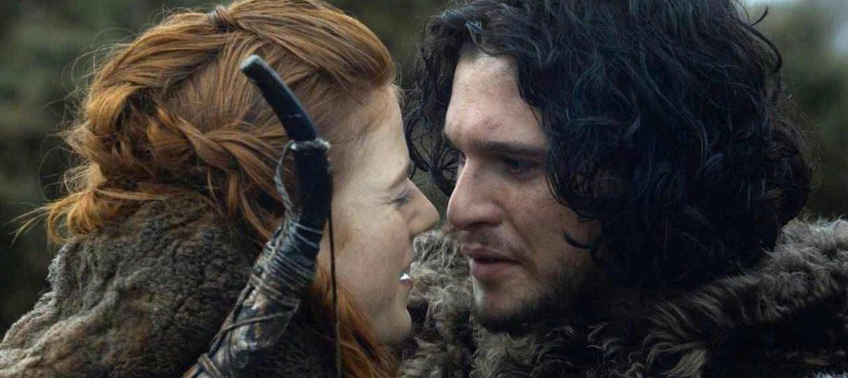 Rose Leslie ficou sem falar com Kit Harrington após ele contar o final de Game of Thrones