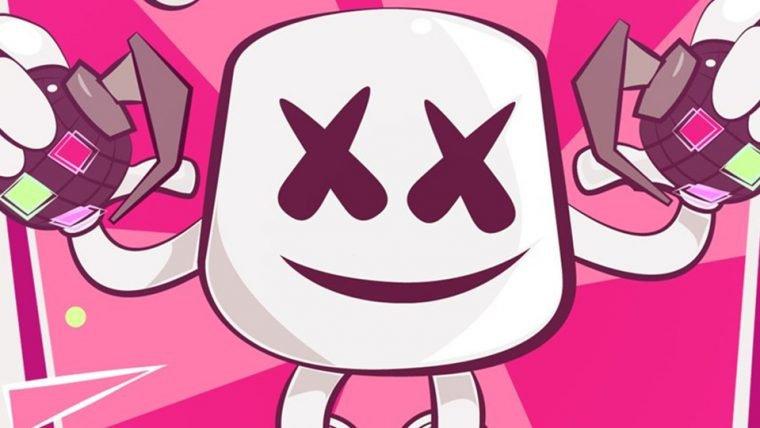 DJ Marshmello deve fazer show dentro de Fortnite no próximo sábado