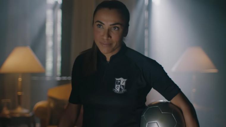 Jogadora Marta entra para a Umbrella Academy como 'Número 10' em comercial divertido