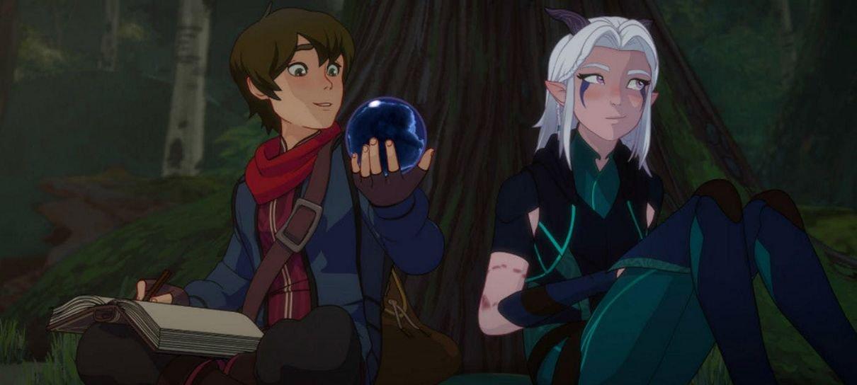 O Príncipe Dragão mudou a animação da segunda temporada atendendo a pedidos dos fãs