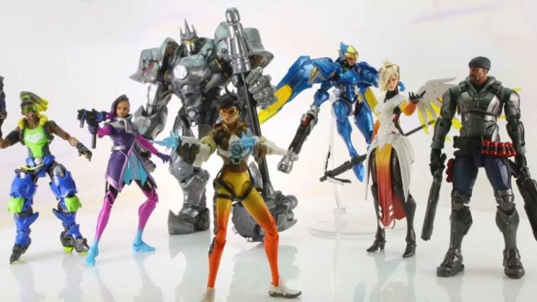 Overwatch ganha nova linha de colecionáveis com Reinhardt, Tracer, Mercy, Pharah e mais!