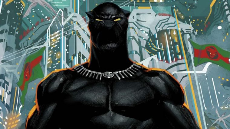 Marvel está oferecendo quadrinhos do Pantera Negra gratuitamente