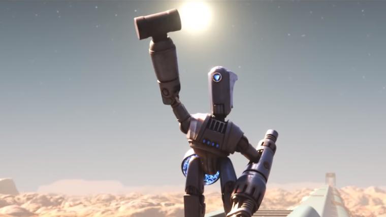 Pixar lança curta-metragem de ficção científica sobre amizades em um mundo futurista