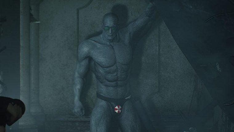 Resident Evil 2 | Mod deixa Mr. X apenas com uma sunguinha da Umbrella