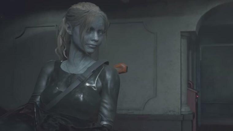 Resident Evil 2 | Mod adiciona skin do Mr. X para Claire