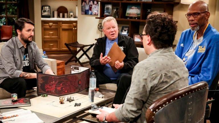 The Big Bang Theory | Kevin Smith, William Shatner e outras estrelas jogam RPG em vídeo