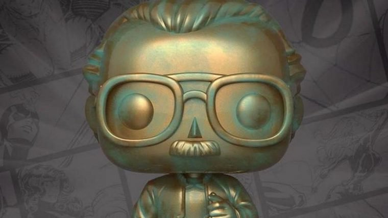 Stan Lee ganha mais um colecionável cabeçudo da Funko