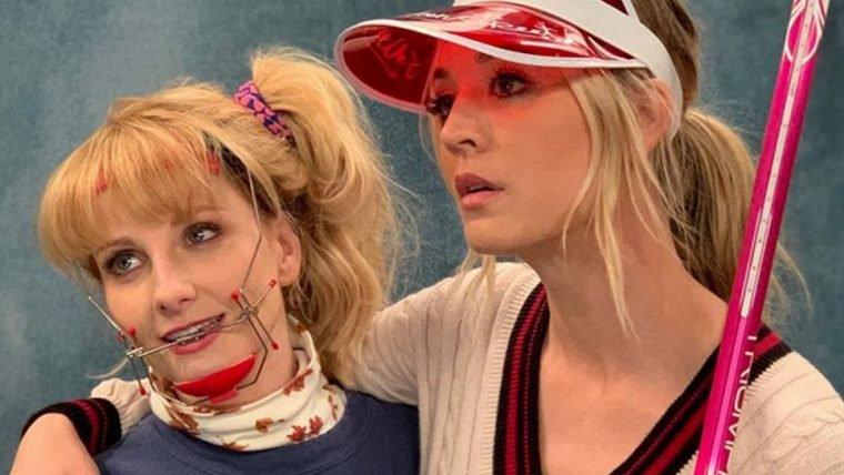 The Big Bang Theory | Penny e Bernadette voltam no tempo em fotos dos bastidores