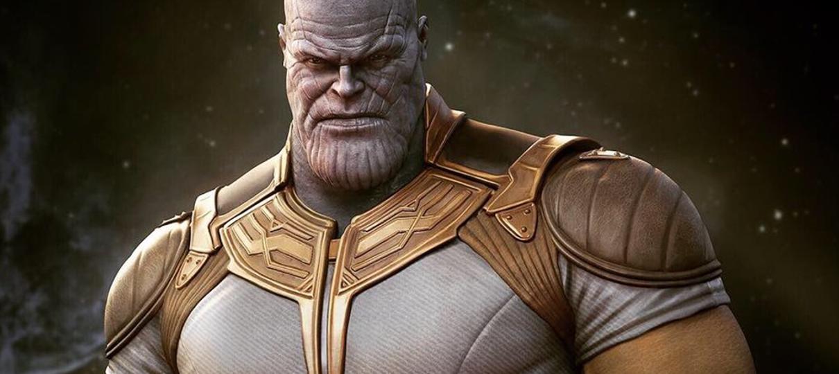Vingadores: Ultimato   Thanos usa roupa clássica em arte de Rafael Grassetti