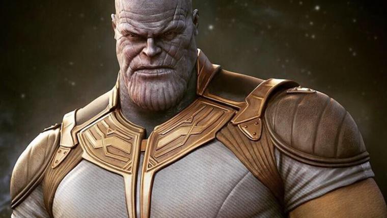 Vingadores: Ultimato | Thanos usa roupa clássica em arte de Rafael Grassetti