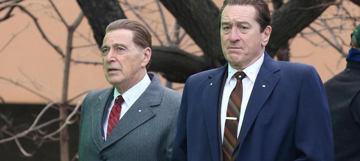 The Irishman | Metade do filme terá Robert DeNiro e Al Pacino jovens