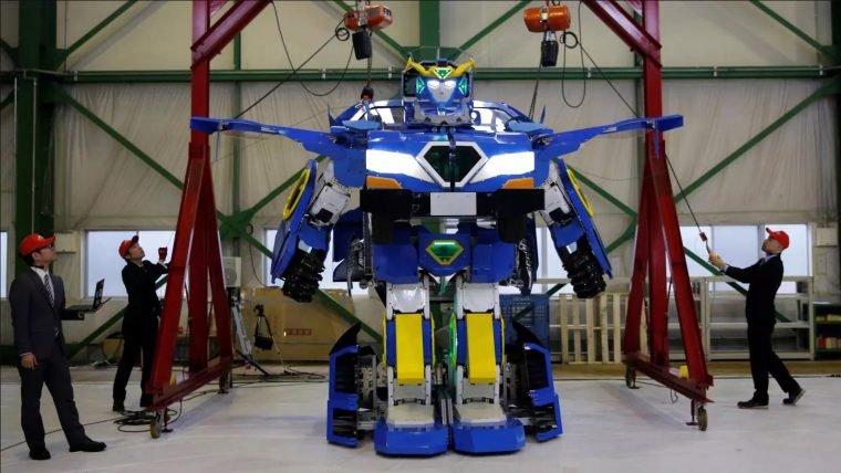 Empresas do Japão criam os Transformers da vida real
