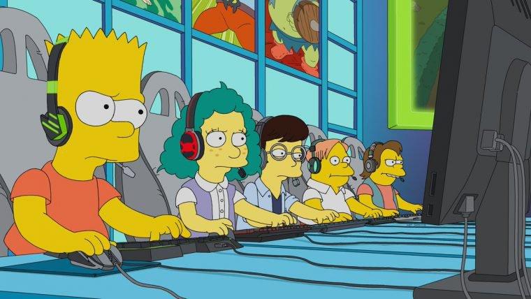 """""""E My Sports"""" de Os Simpsons"""