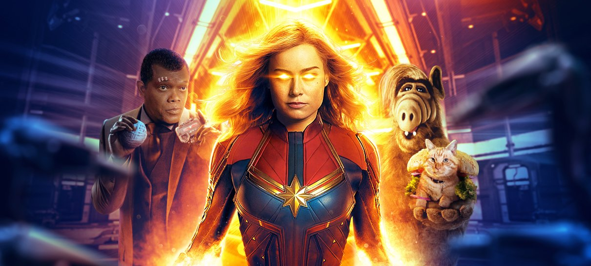 Capitã Marvel: Representou?