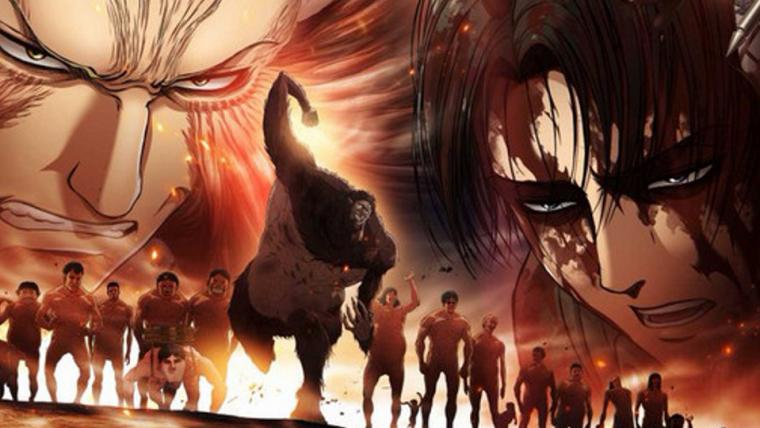 Attack on Titan | Terceira temporada ganha arte mostrando um exército de Titãs