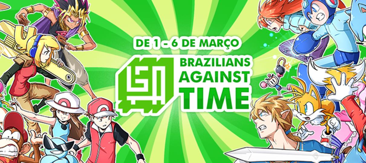 Evento de speedrun beneficente Brazilians Against Time acontece até quarta (6)