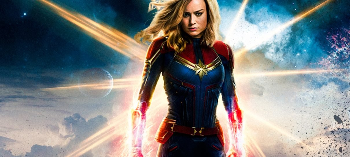 Capitã Marvel já acumula quase R$ 100 milhões nas bilheterias brasileiras