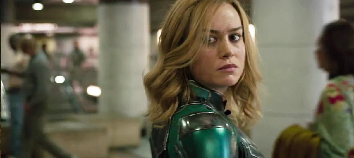 Capitã Marvel é a maior pré-estreia de um filme solo da Marvel na China