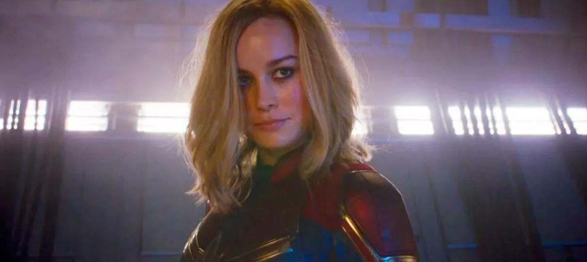 Arte mostra uniforme de Capitã Marvel para Vingadores: Ultimato