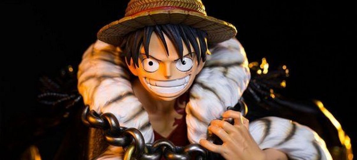 One Piece | Colecionável super detalhado do Luffy tem o preço de um tesouro pirata